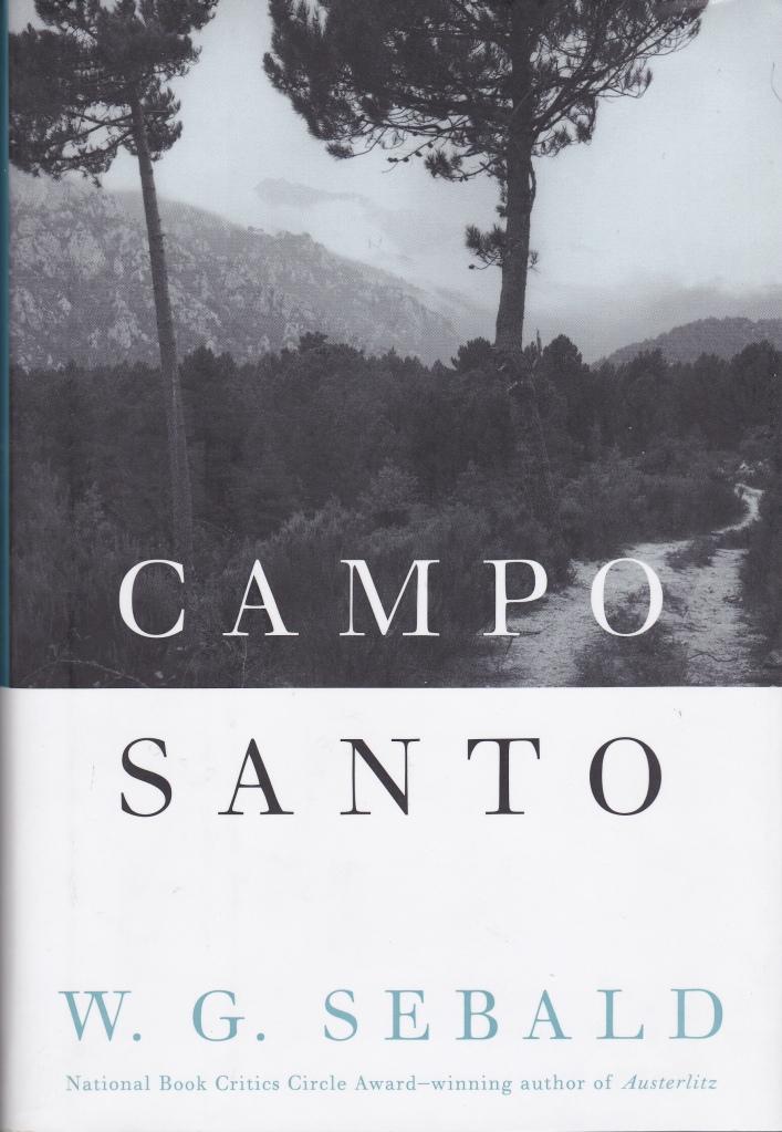 Sebald Campo Santo American edition