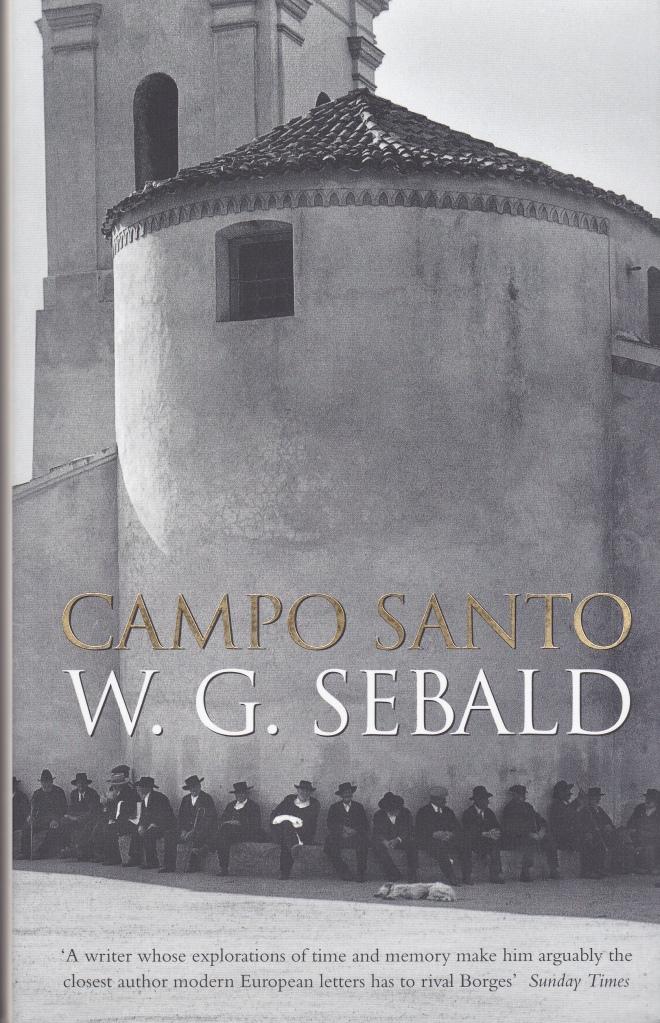 Sebald Campo Santo British edition