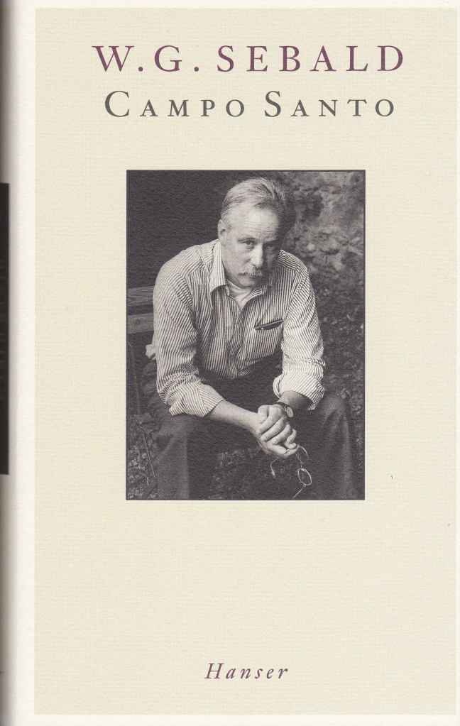 Sebald Campo Santo German edition