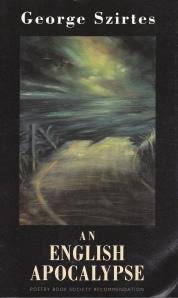 Szirtes English Apocalypse cover