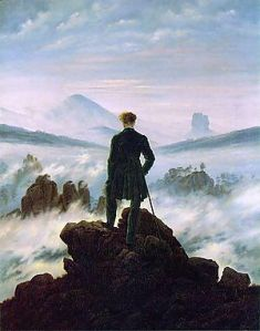 Caspar David Friedrich wanderer