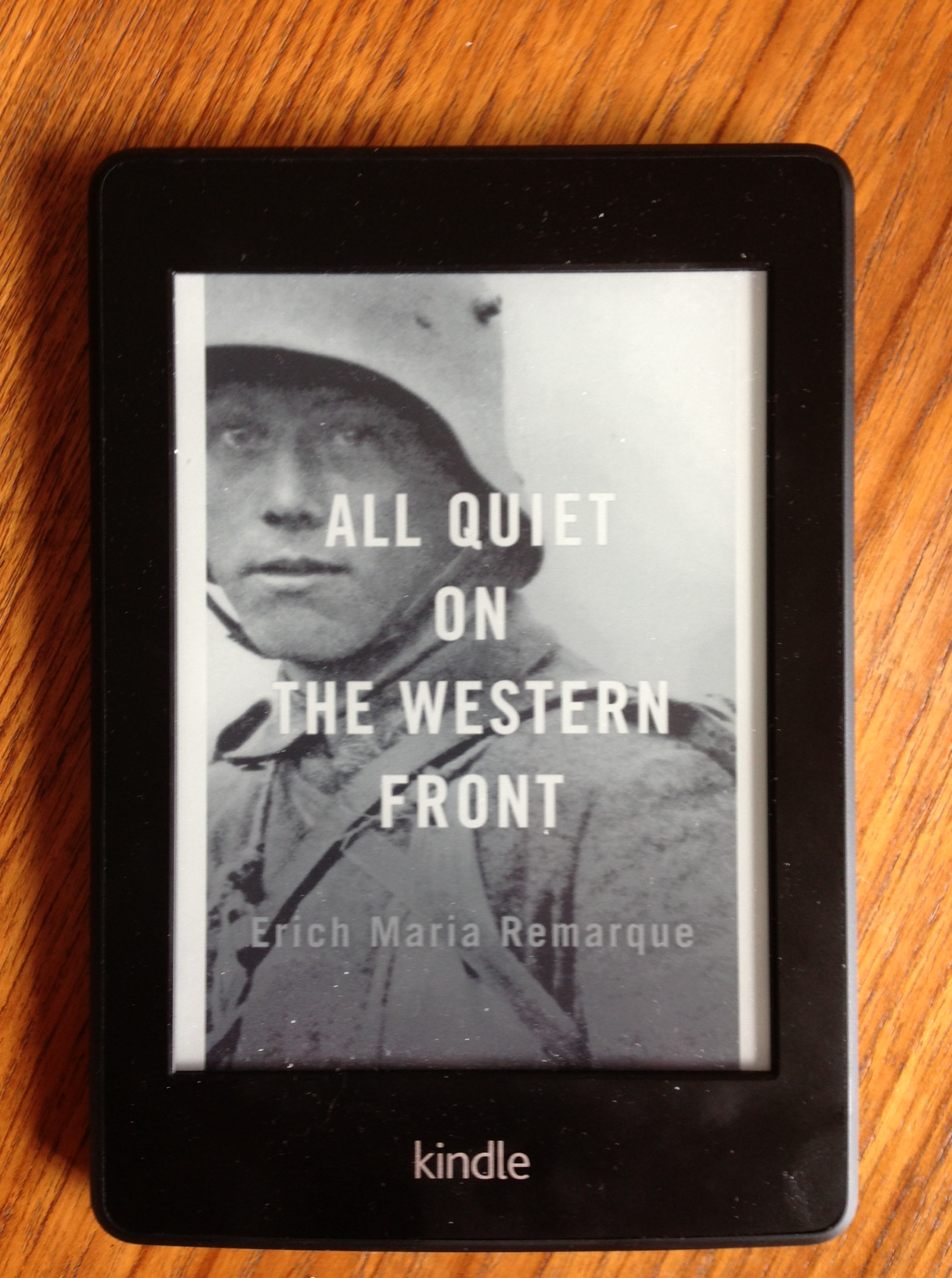 a report on all quiet on the western front a novel by erich maria remarque Erich maria remarque's novel follows paul bremer, a young man in the german infantry on the western front the novel, told in first person, opens at a point where paul has been at the front for a little more than a year, having joined in those first few months.