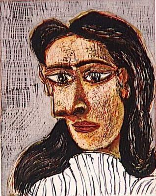 Tete de Femme No 3, 1939